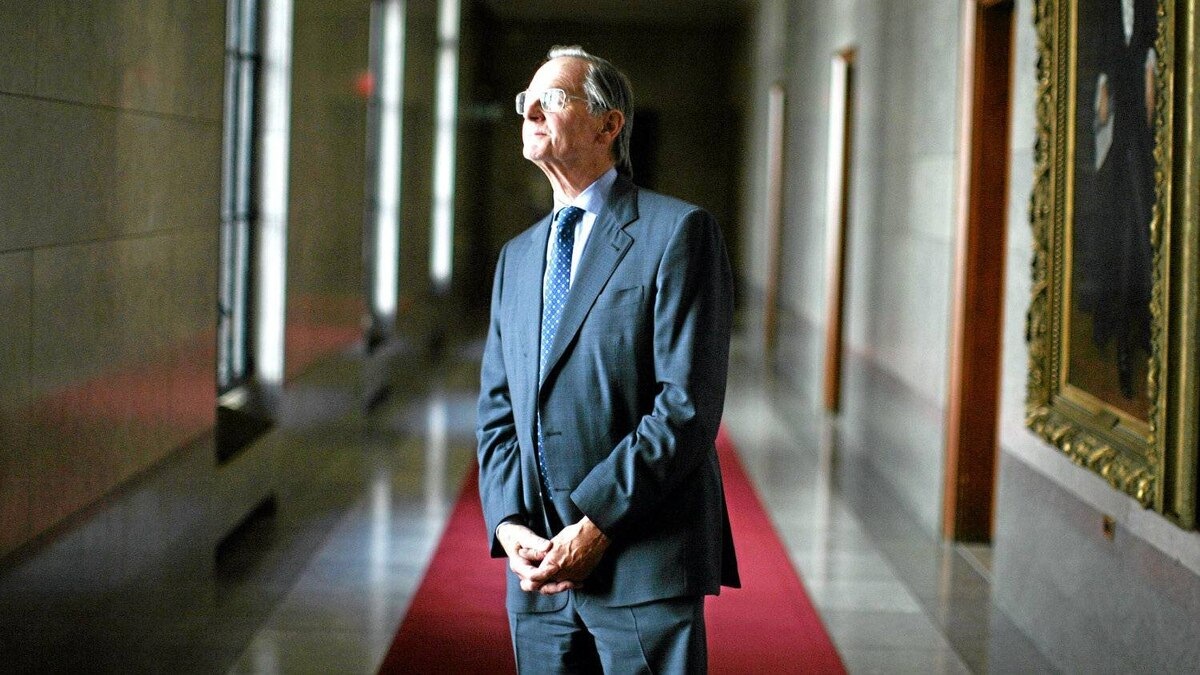 September 15, 2011: Justice Ian Binnie photograph at the Supreme Court in Ottawa.