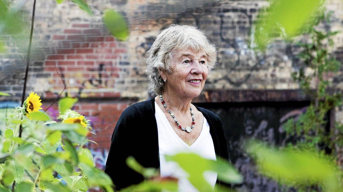 Geraldine Mabin, 71-year-old educator and founder of The Mabin School in Toronto.