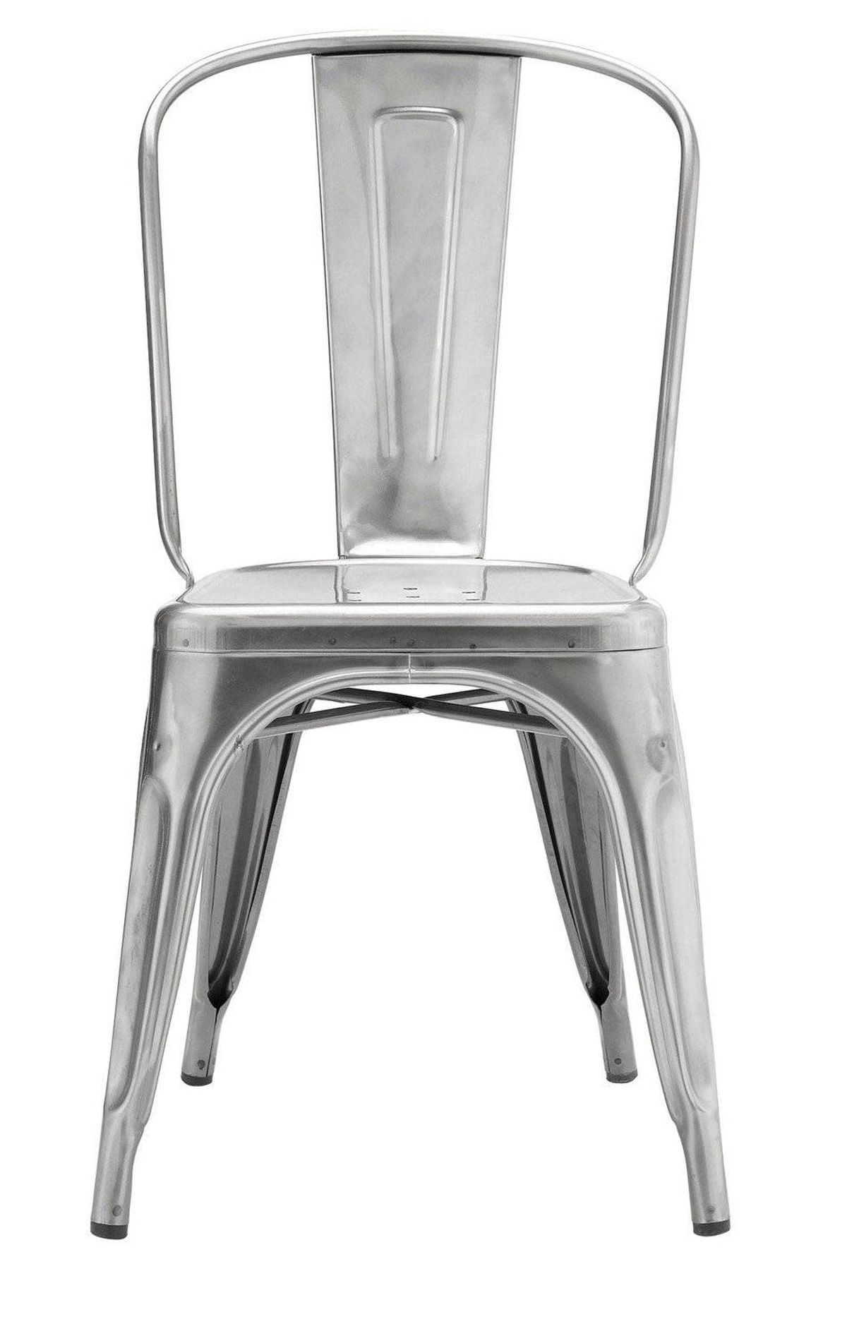 Designed by Xavier Pauchard for Tolix, the classic Marais A Chair famously graced the decks of the S.S. Normandie ocean liner. $250 through www.dwr.com.