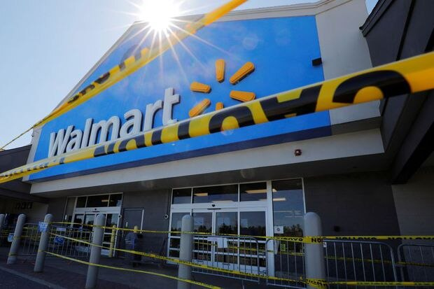 Walmart becomes a lifeline and online sales surge 74%