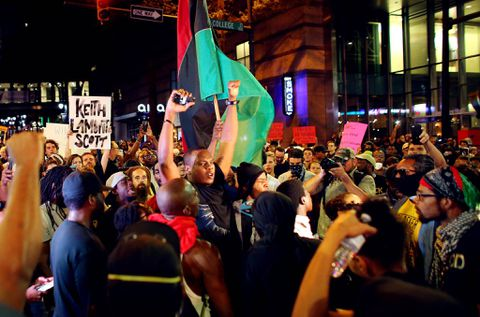 Protesters out in Charlotte for third night as police refuse to release video