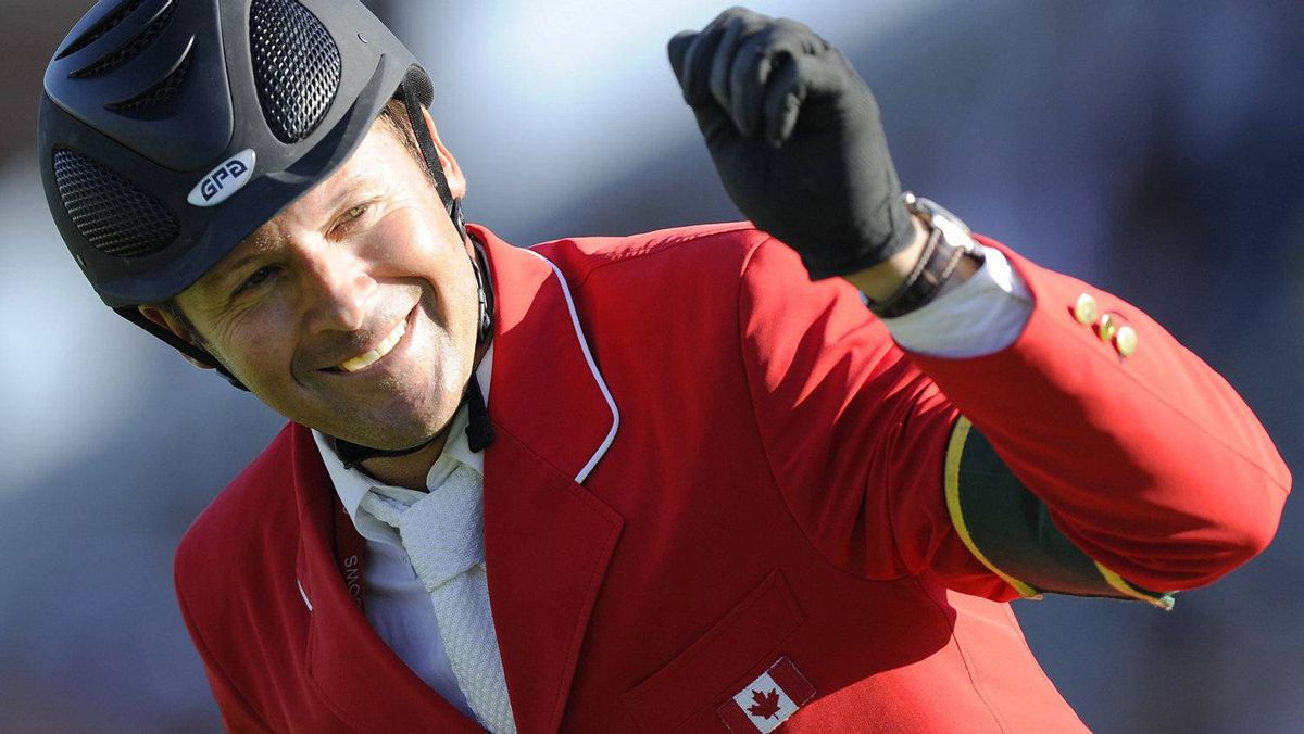 Could Coriana Van Klapscheut be the next mount for Olympic show-jumper Eric Lamaze of Canada? FILE PHOTO: REUTERS/Todd Korol