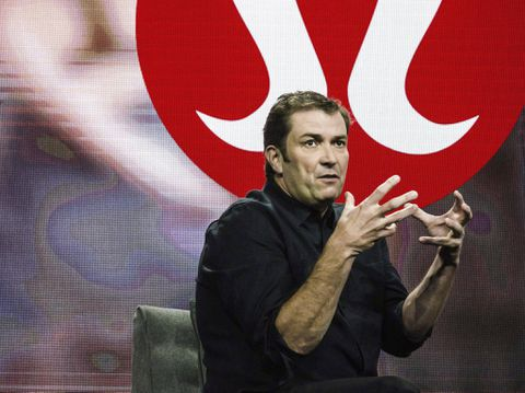Laurent Potdevin Out at Lululemon