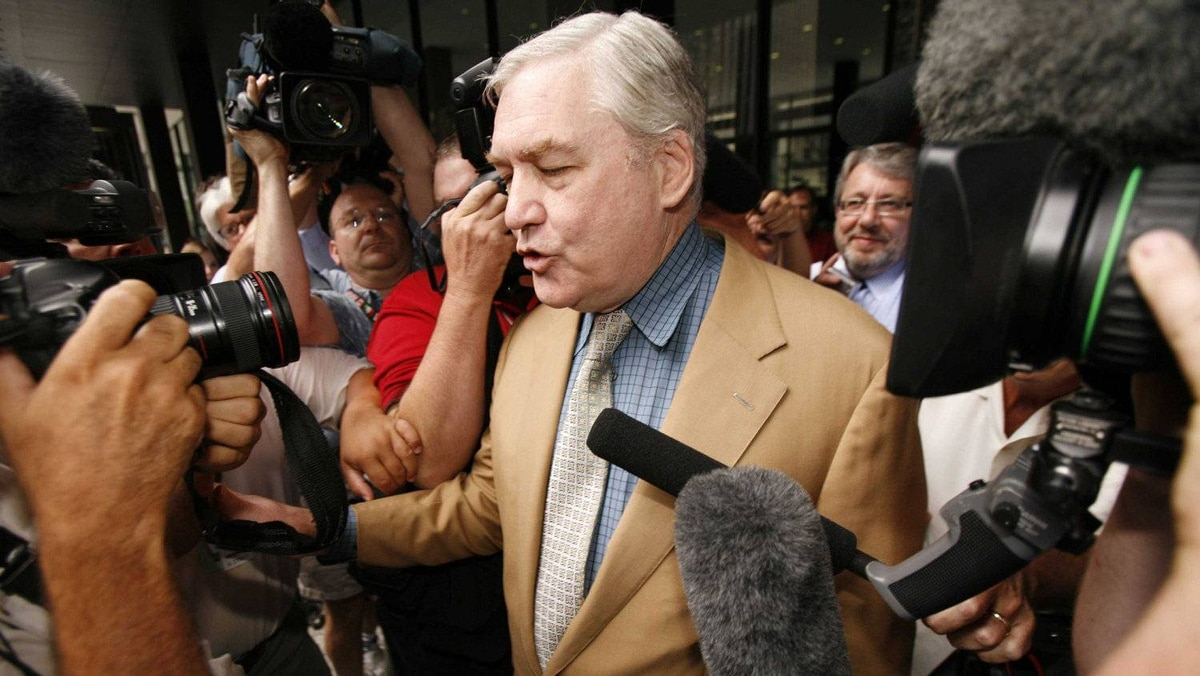 Conrad Black's trial became somewhat of a media circus on both sides of the border.