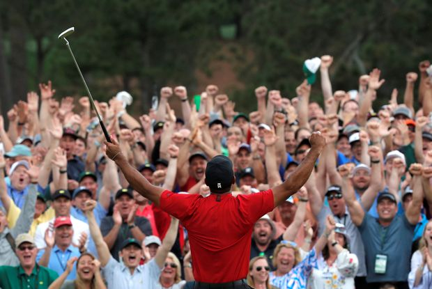 The Twitter world goes wild about Tiger Woods' fifth Masters win