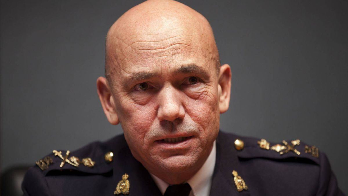 RCMP Commissioner Bob Paulson speaks to The Globe and Mail editorial board, Dec. 19, 2011.