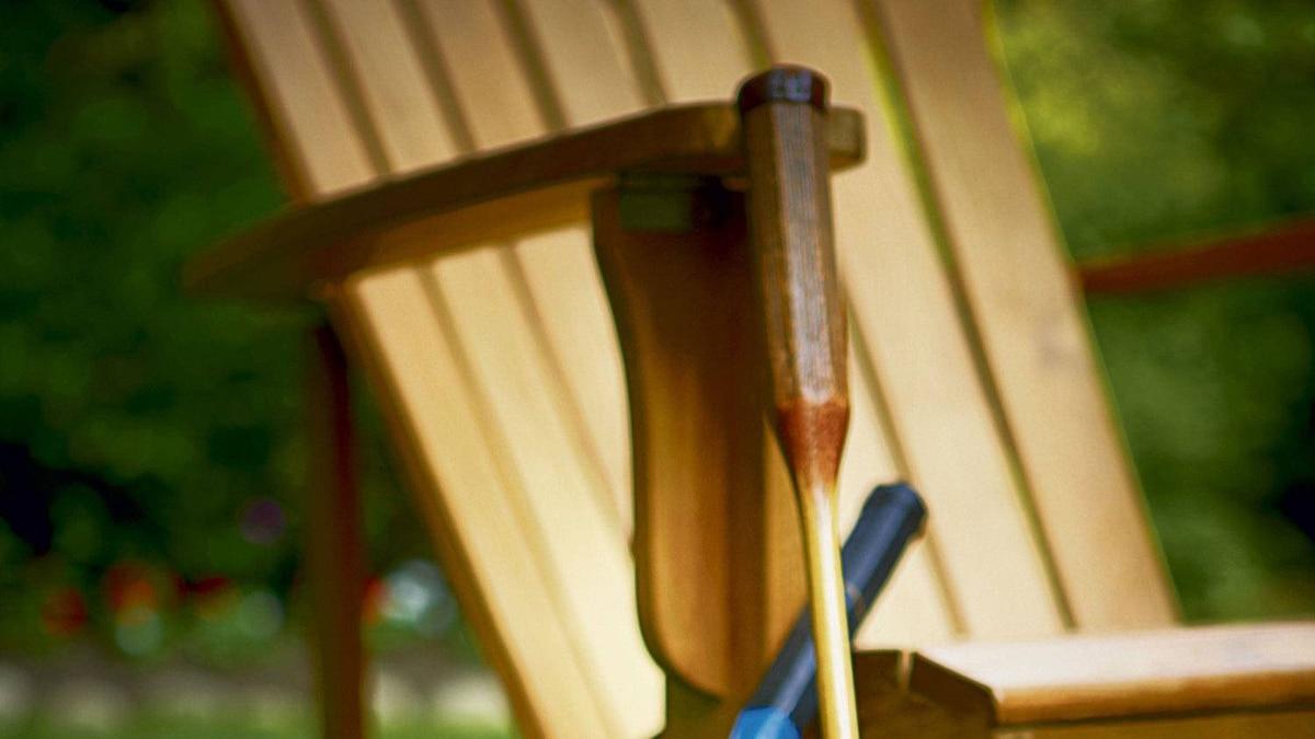 Andrew Richard Designs Muskoka chair, $795.