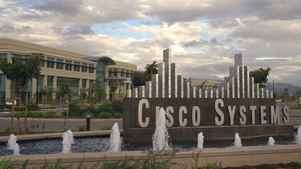 Cisco Systems headquarters in San Jose, Calif.