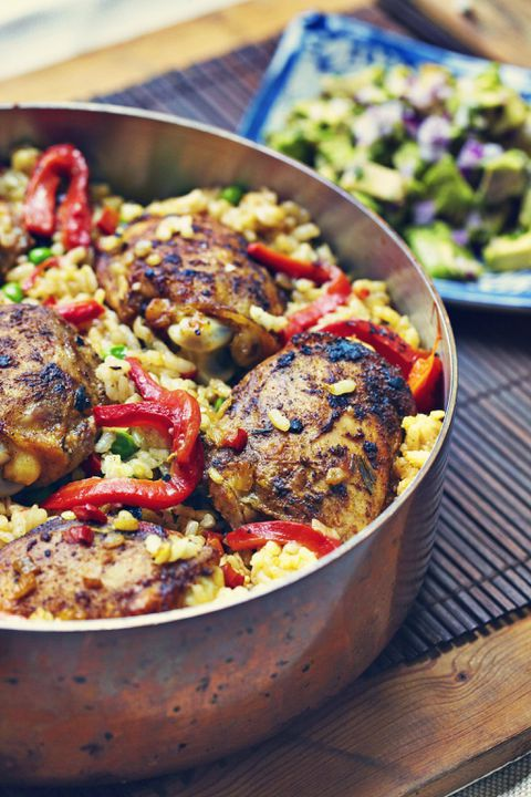 Recipe: Cuban Chicken and Rice
