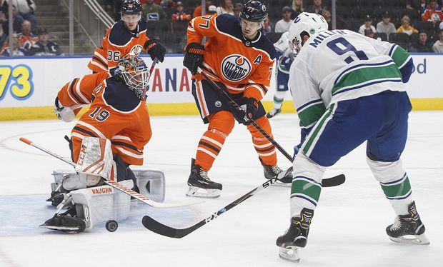 Horvat leads Canucks past Oilers 6-1 in pre-season tilt