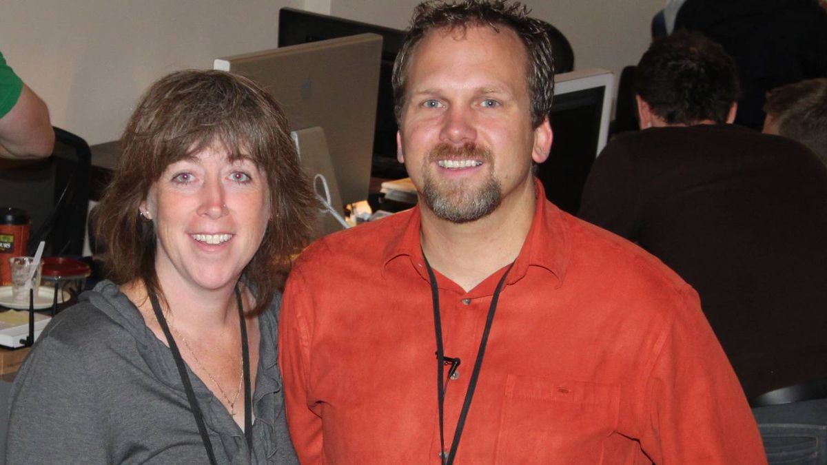 Sandra, left, and Chad Ballantyne, co-founders of The Creative Space