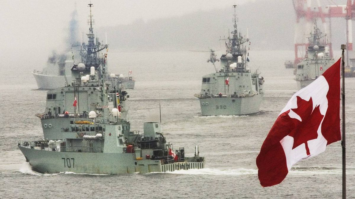 12: Rank Canada's naval capability, which puts it between Turkey and South Korea. (StrategyPage.com)
