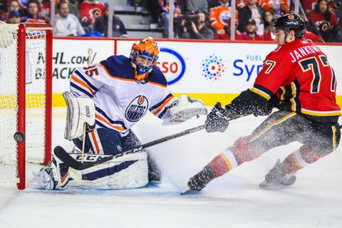 Flames show no fizzle against Oilers, snap 7-game losing streak