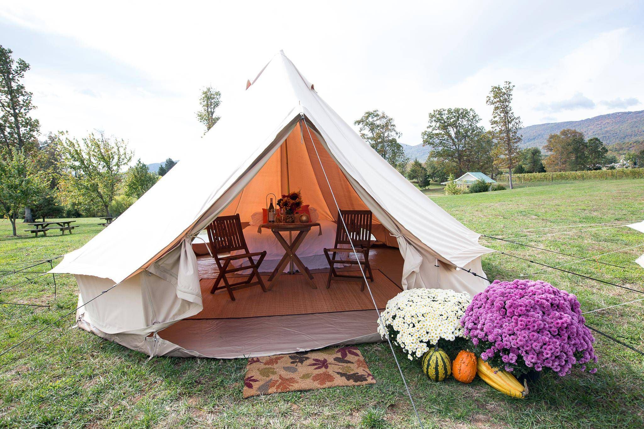 Glamping  delivers music fests without mud 51f7a1c33