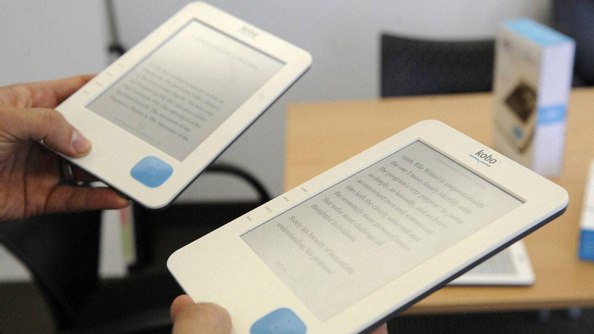 Kobo's e-reader