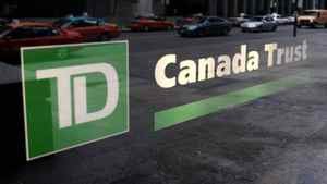 A view of a branch of a TD Canada Trust bank in Toronto.