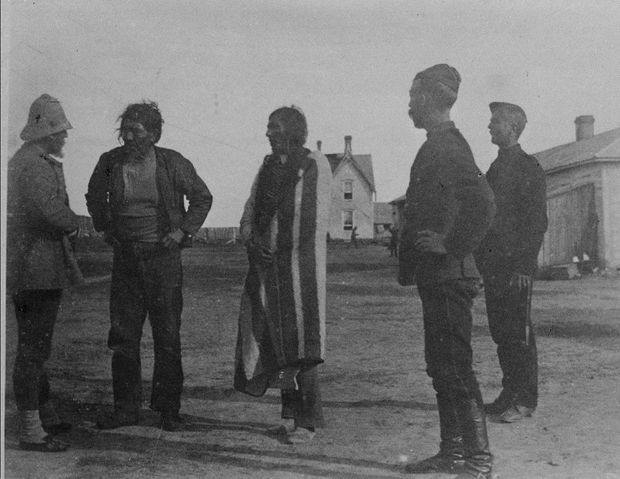 Trudeau in Saskatchewan to exonerate Chief Poundmaker of treason