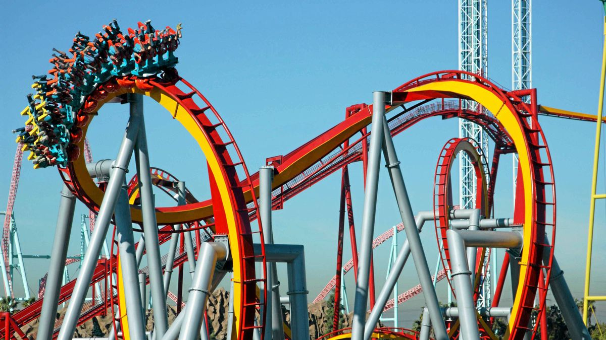 At Knott's Berry Farm, Silver Bullet, the West Coast's longest inverted coaster that covers 3,125 feet at breakneck speed, left me so G-forced-up that a 10-year-old had to help me unbuckle my seatbelt afterward.