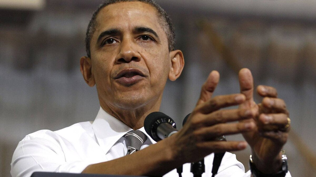 When U.S. President Barack Obama says he doesn't bluff, is he bluffing?