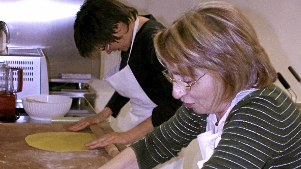 Italian grandmothers like Adele Casadio make rolling pasta look easy, but it's not.