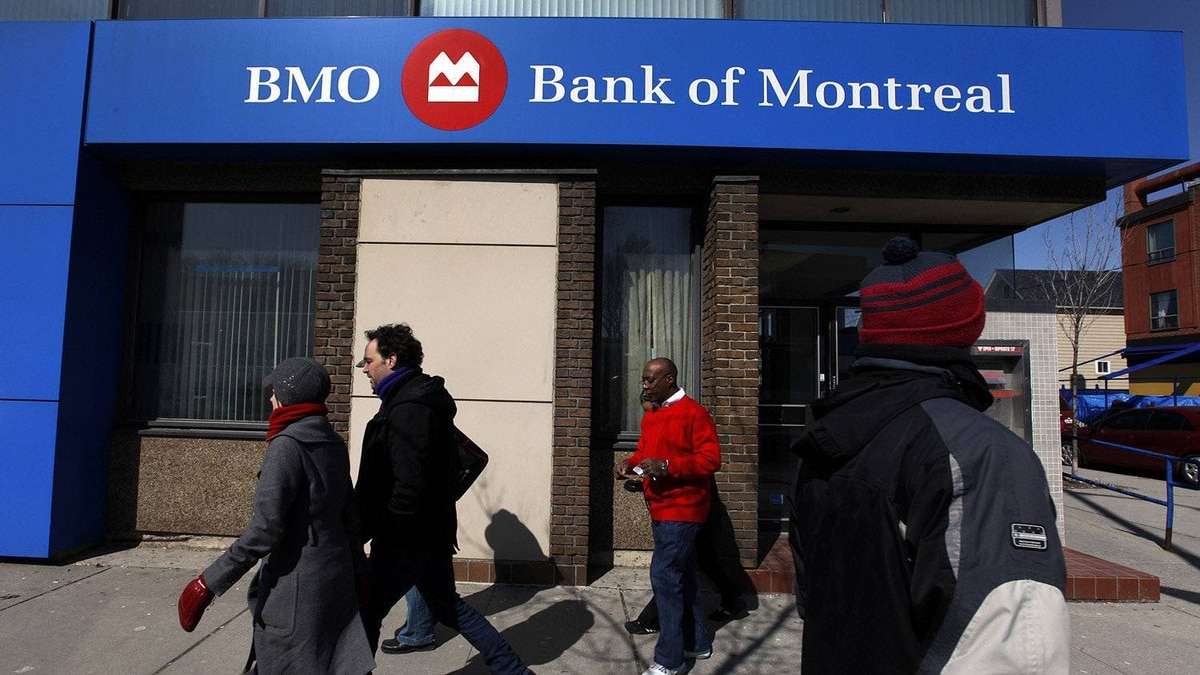 A Bank of Montreal or BMO location in Toronto.