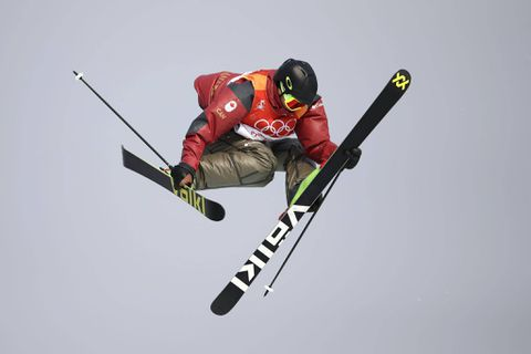 Teal Harle into the Men's Slopestyle final in Pyeong Chang Winter Olympics