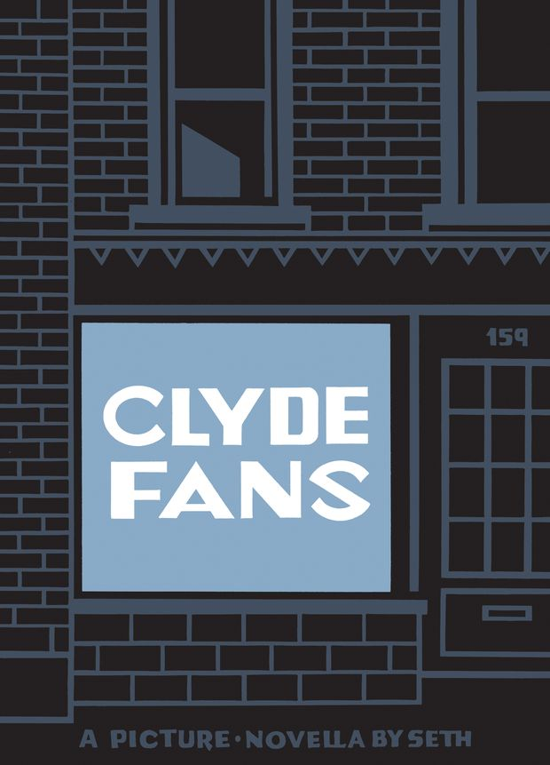 How cartoonist Seth drew inspiration from Toronto's storefronts and street scenes for his new graphic novel Clyde Fans