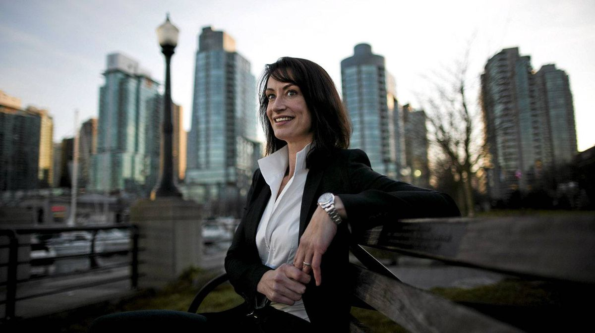 HSBC Bank Canada executive Karen Adams has travelled the world for the bank. She advises young workers to embrace the 'big wide world out there.'