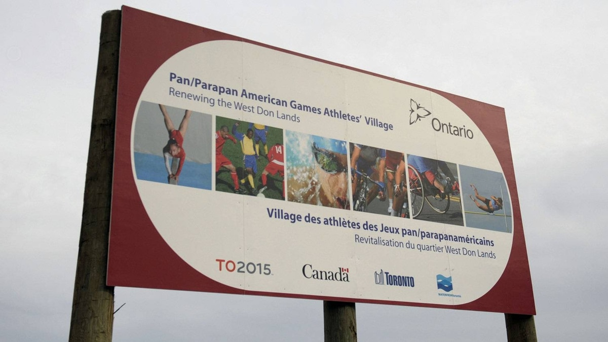 With the 2015 Pan/ParaPan American Games three years away, construction of the athletes' village has been underway on the West Donlands area of Toronto.