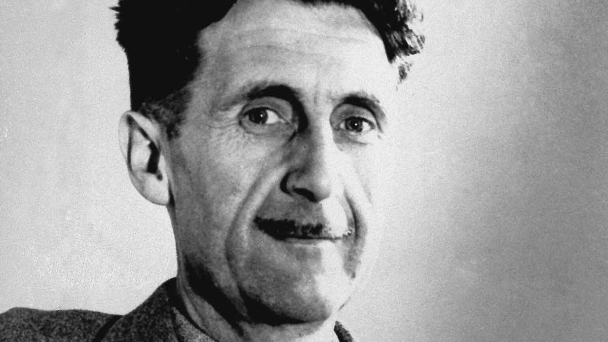 George Orwell is not being amused by overzealous attackers of the passive voice.