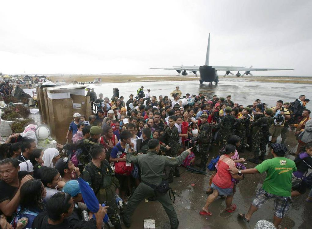 Philippine relief operations challenged by scope of destruction
