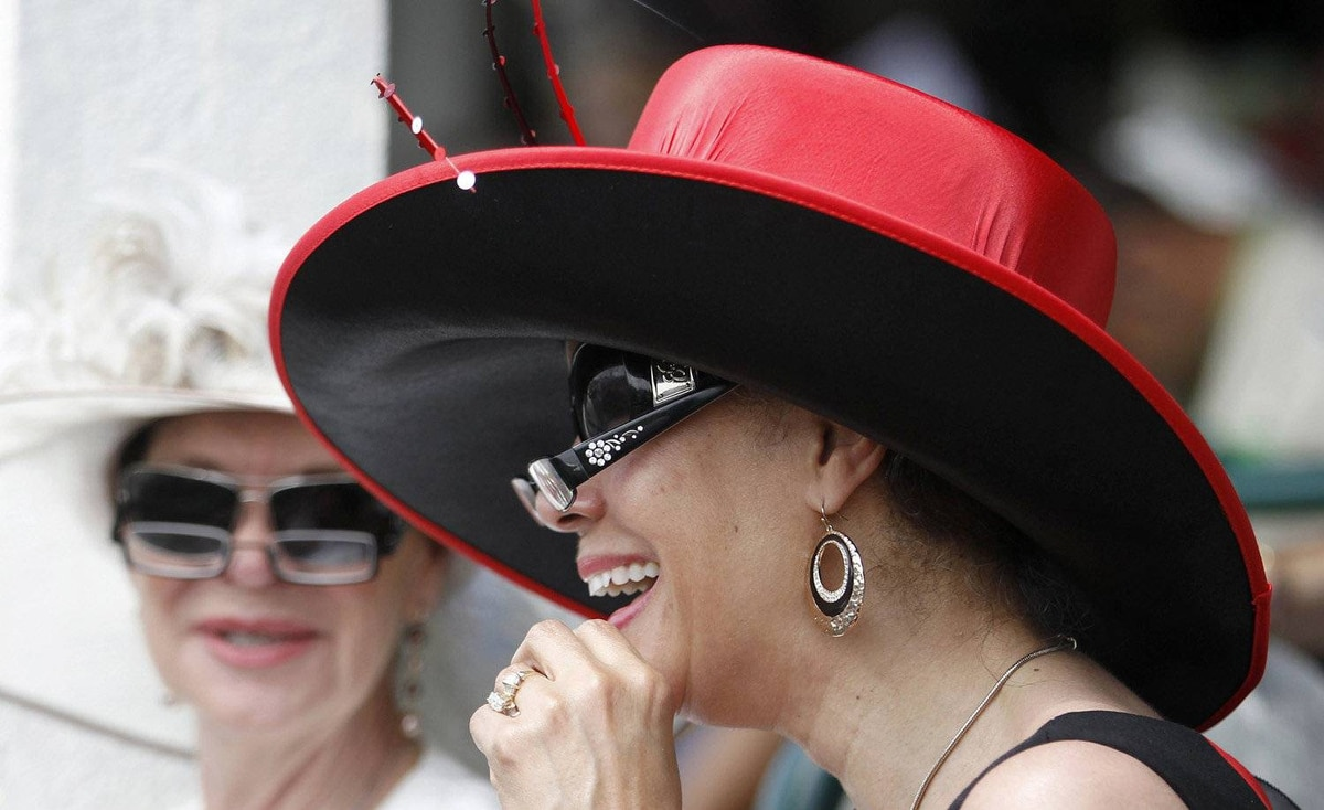 Headwear comes down to individual choice at the Kentucky Derby, but no woman worth her salt should be caught dead without at least two pairs of specs.