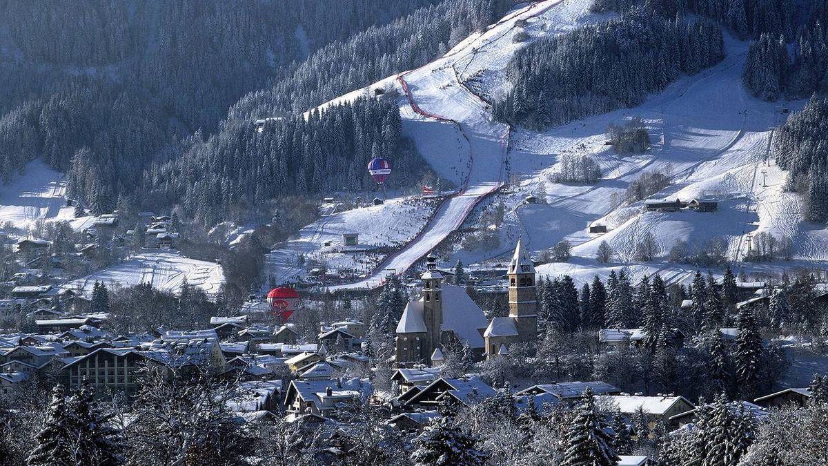Life is good on ski safari at Kitzbuehel, which is why thousands of skiers make their way to this luxury resort every season.