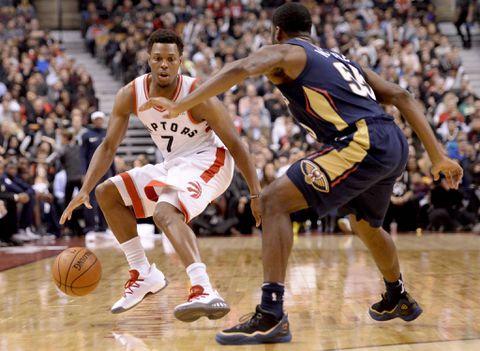 Raptors' Kyle Lowry scores 18 in victory over the Pelicans