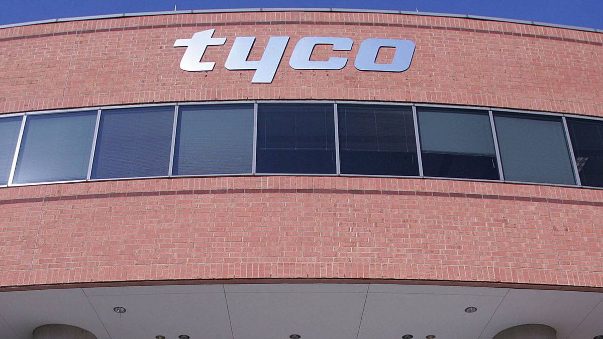 The operating headquarters of Tyco International are seen in a West Windsor, N.J. file photo from Feb. 1, 2006.