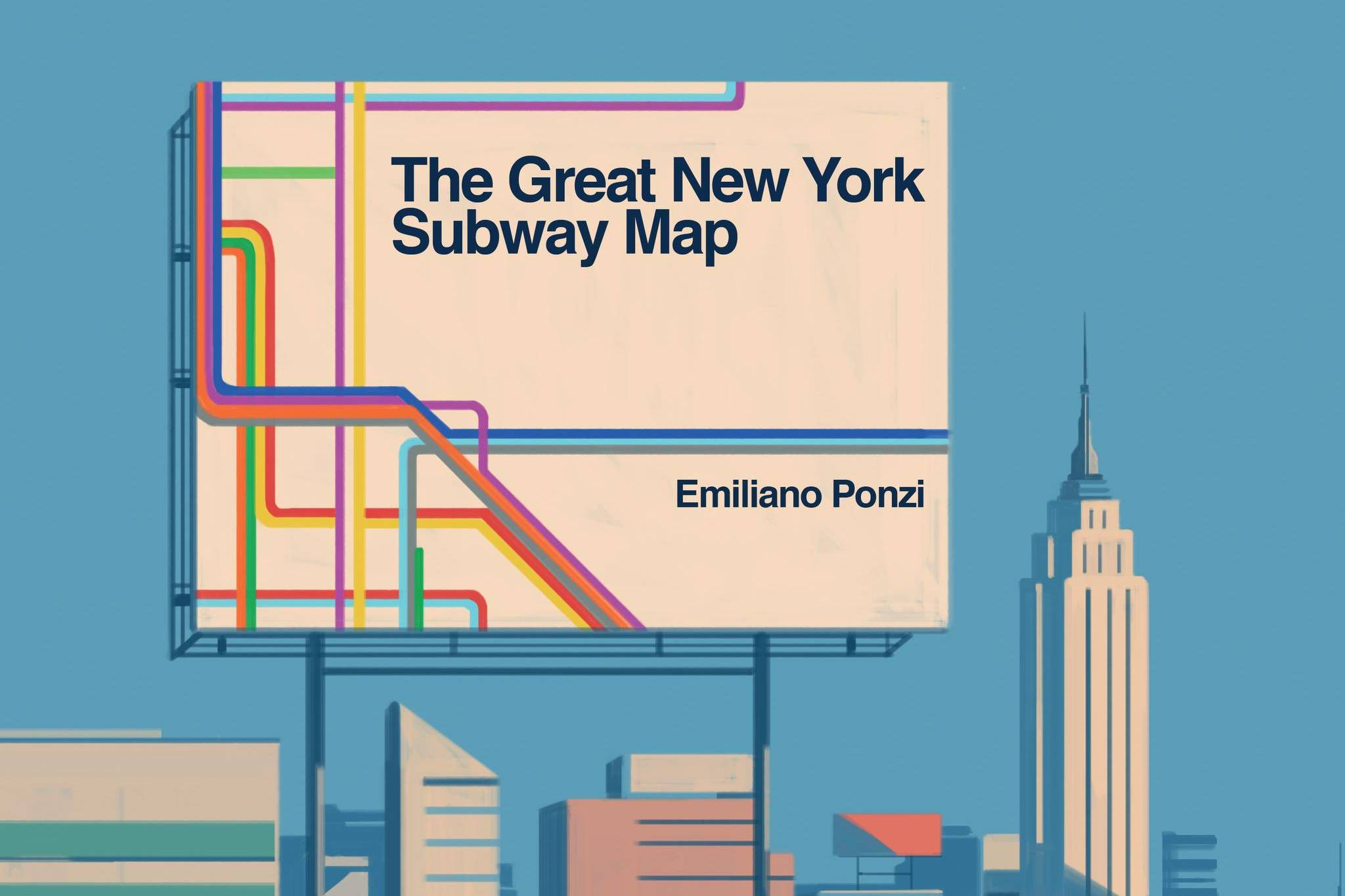 Nyc Subway Map Author Emiliano Ponzi.To Truly Understand Design We Need To Stop Look And Learn The