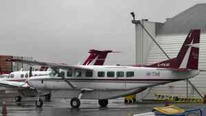 An Air Tindi Cessna Caravan, similiar to one shown at the Yellowknife Airport, crashed outside of Lutsel K'e NWT on Oct. 4, 2011. It's the third plane crash in the Canadian Arctic since late August.