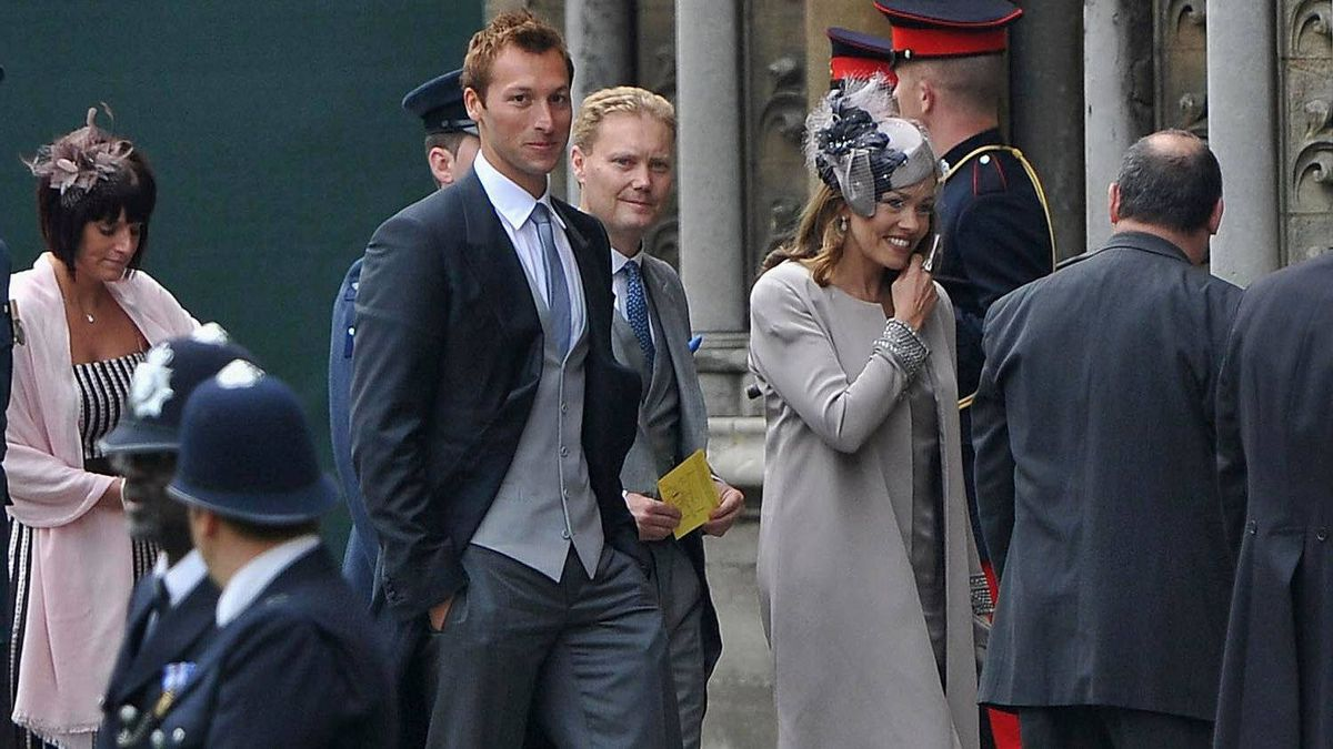 Australian Olympian Ian Thorpe arrives to attend the Royal Wedding of Prince William to Catherine Middleton at Westminster Abbey on April 29, 2011 in London, England.