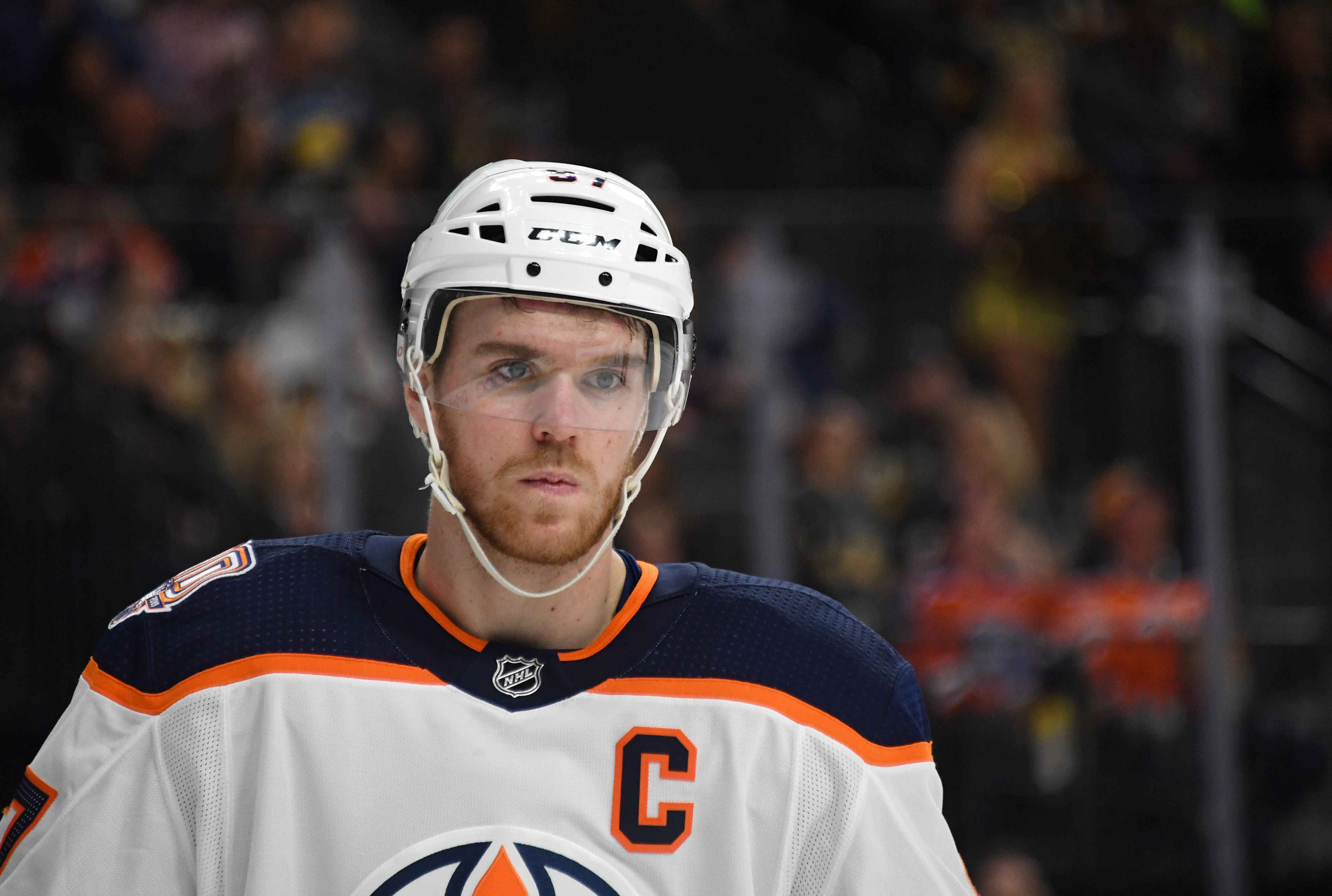 Edmonton police lay charges against man accused of forging signature of Oilers star Connor McDavid