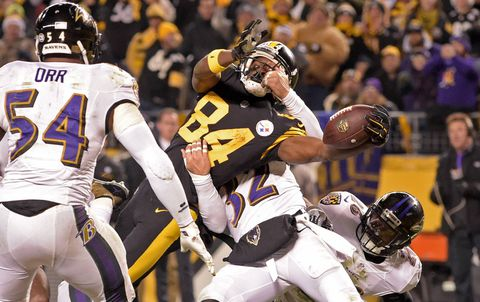 Pittsburgh Steelers' offence rolls to take AFC North over Baltimore Ravens