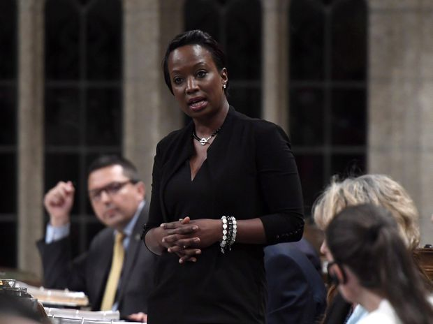 Liberal MP Celina Caesar-Chavannes says she was met with 'hostility, anger' in private Trudeau talks