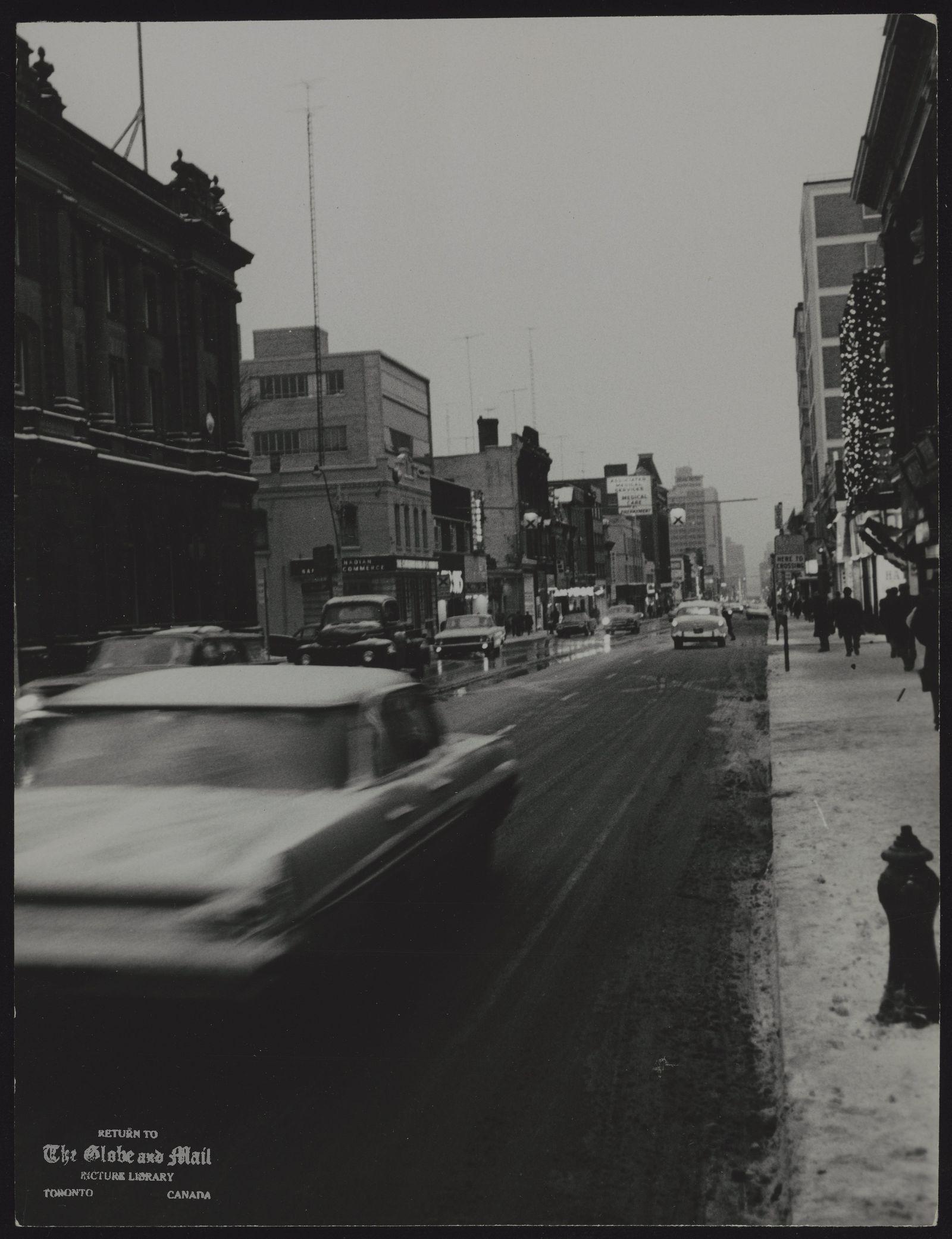 YONGE STREET (Toronto) No cutlline