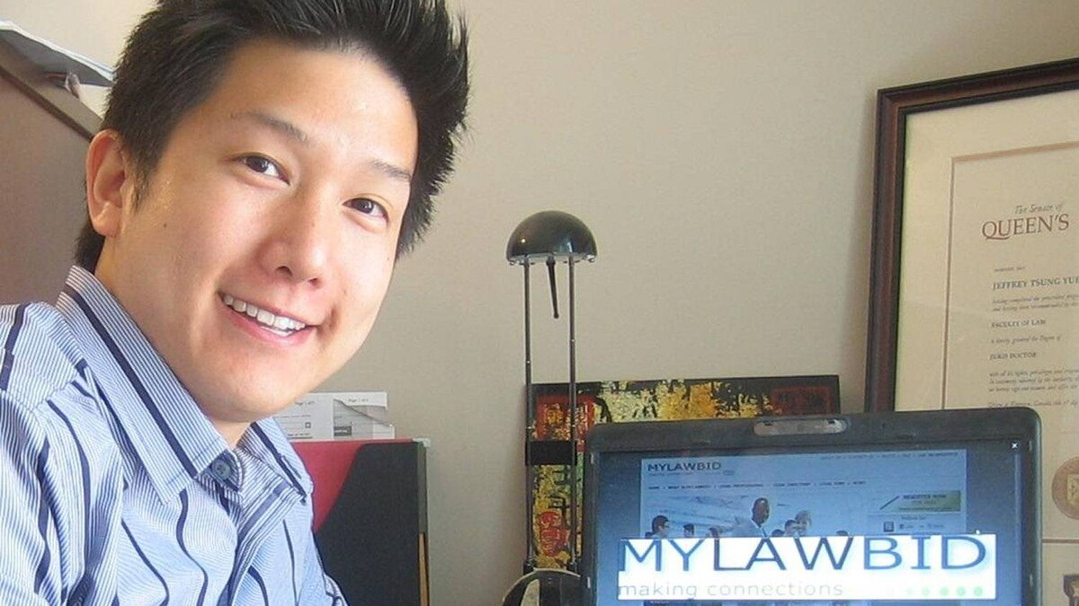 Lawyer and Mylawbid.com founder Jeff Fung