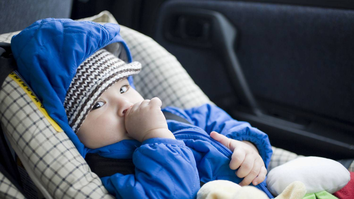 A Christmas Story Kid In Snowsuit.Kids Shouldn T Wear Winter Jackets In Car Seats So How Can
