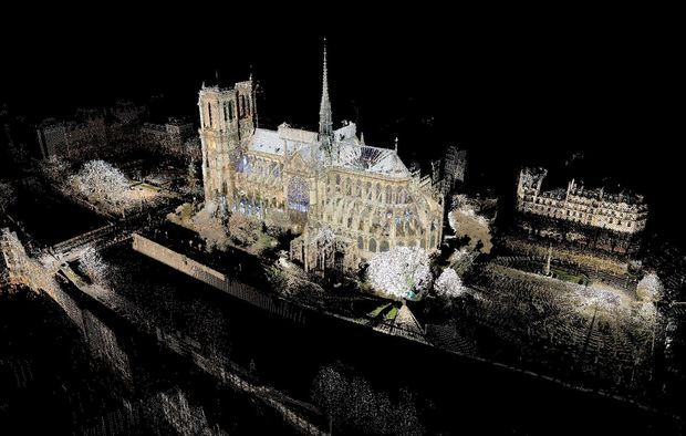 Can a video game really help repair the Notre-Dame Cathedral?