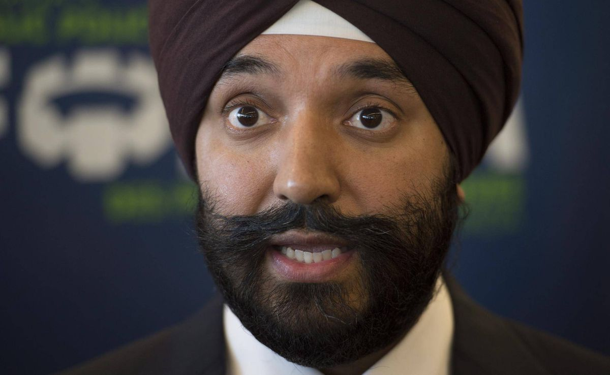 Canadian government mulling best approach to investing in for Navdeep singh bains