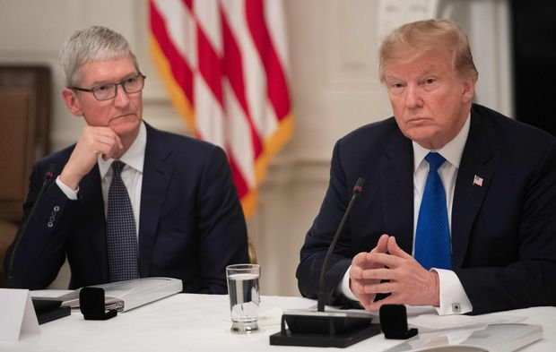 Trump Could Reconsider Tariffs on Apple Products Built in China
