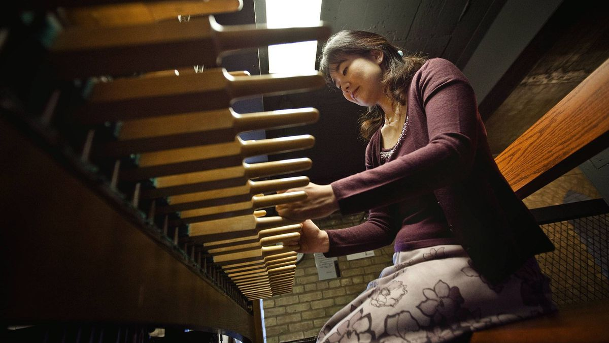 Minako Uchino, a medical doctor at Toronto's Princess Margaret Hospital, will play the carillon at theUniversity of Toronto's Soldier's Tower for Remembrance Day.