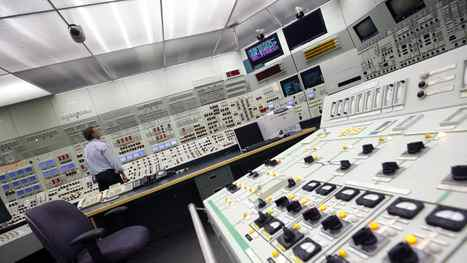A look inside the simulation training room at the Pickering nuclear plant.