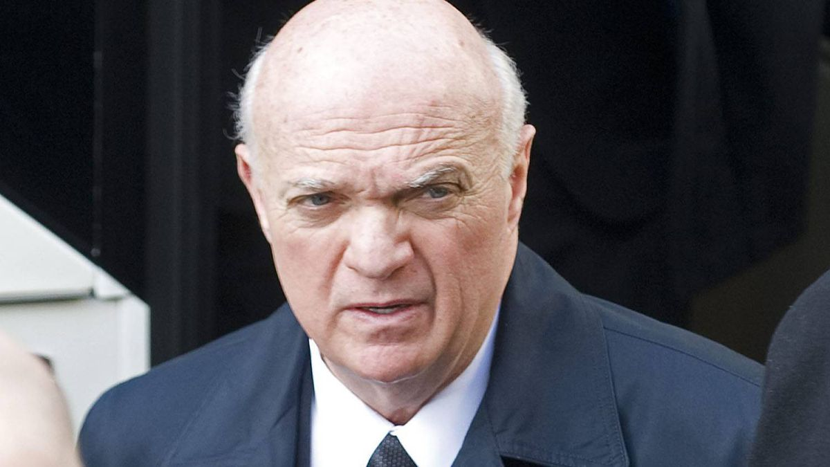 New Jersey Devils' General Manager and CEO Lou Lamoriello attends the funeral of former NHL coach Pat Burns in Montreal, Monday, November 29, 2010. THE CANADIAN PRESS/Graham Hughes